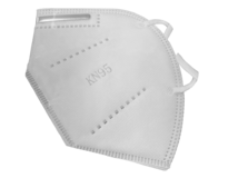 FDA approved disposable KN95 Respirator. Filtrates 95% of particles. Sold in packs of 50.